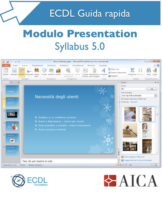 Guida rapida ECDL – Presentation Syllabus 5.0