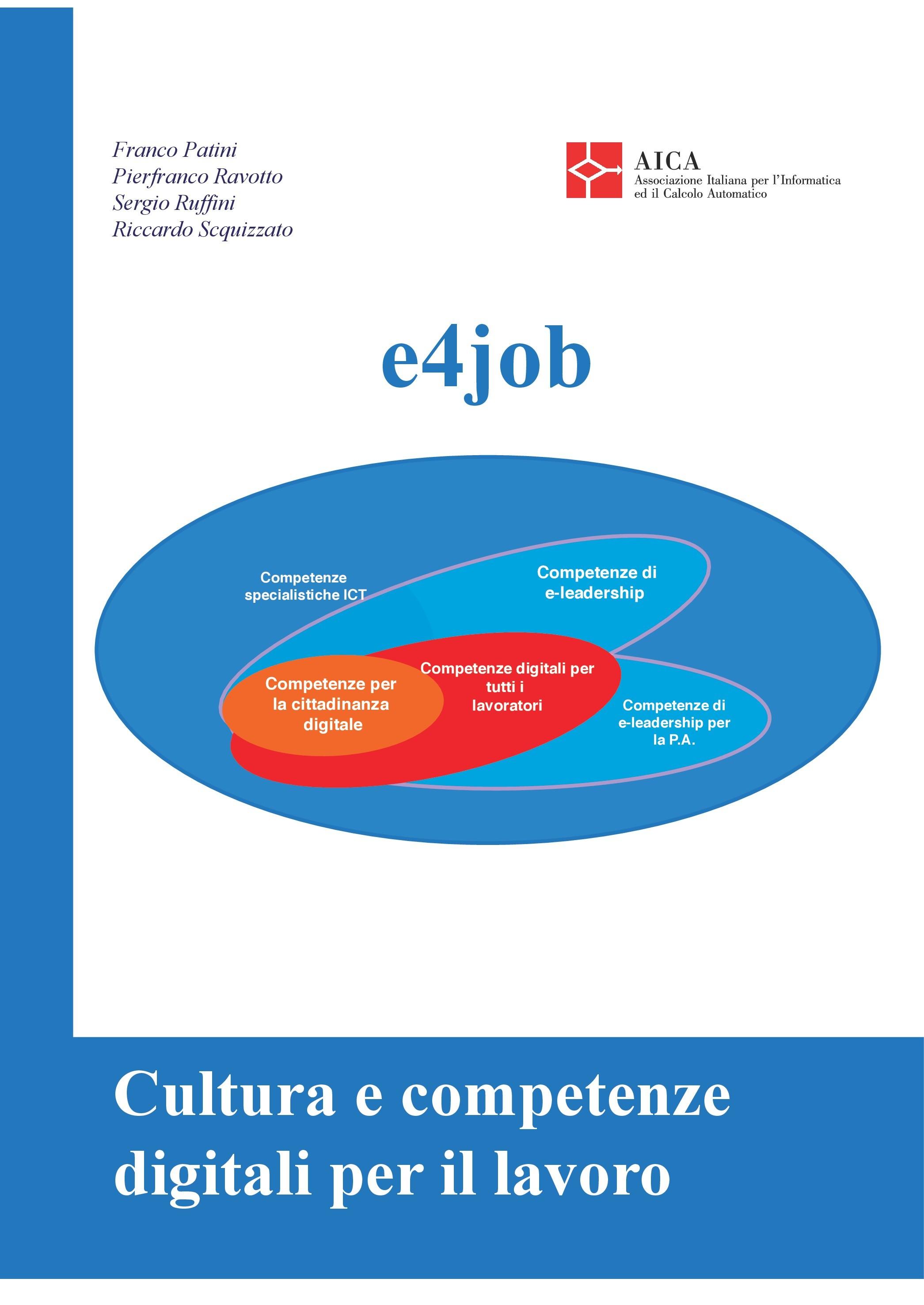 e4job Cultura e competenze digitali per il lavoro 2a Edizione