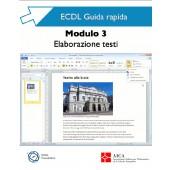 Guida rapida ECDL 3 - Elaborazione Testi